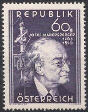 Österreich 1950 ANK 963 / Michel 951 100. Todestag von Josef Madersperger postfr