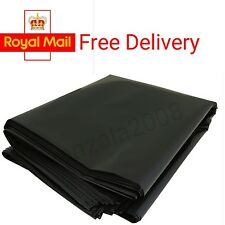 25 x Heavy Duty Strong Black Refuse Sacks Bin Liners Bags for Home Business etc.