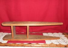 VINTAGE TABLE SIZE WOOD IRONING BOARD!    A+  CONDITION!   BUY IT NOW!   SALE!