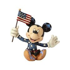 Disney Traditions - Mickey Mouse - Patriotic Mickey Jim Shore Figurine 4056743