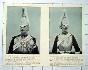 1896 A Corporal Of Life Guards &  A Trooper Of Life Guards
