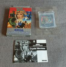 Sega Game Gear Spiel Crystal Warriors Boxed mit Handbuch