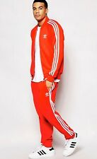 "Adidas Original Scarlet Red SST Track Suit ""Track Jacket And Track Pants"""