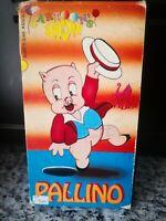 Cartoon's Pallino - Vhs - 1962 - Swan Video -F