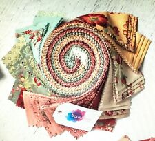 Boundless Dusty Roads Jelly Roll Floral Chintz Cotton 40 pieces