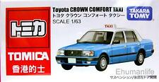 Takara Tomy Tomica Toyota Crown Comfort Taxi Hong Kong 1/63 Scales Diecast BLUE