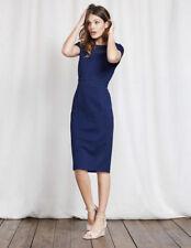 New BODEN Ladies Hera Ponte Dress Size UK 12 R EU 38 US 8  Imperial Blue