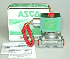 "ASCO Red Hat Solenoid Valve 8215G010 3/8"" NPT 120V Fuel Gas Inert Gas Air 4KY40"