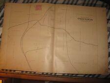 ANTIQUE ORONOGO MEDOC PRESTON BREST SHERIDAN TOWNSHIP JASPER COUNTY MISSOURI MAP