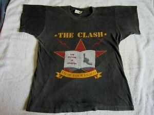 Vintage Original *The Clash* 1982 Combat Rock Tour T-Shirt