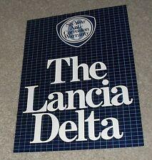 Lancia Delta Brochure 1982