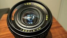 Bell & Howell SLR 28mm Lens with Pentax PK Mount . Perfect condition.
