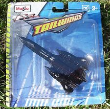 SR-71 Blackbird. 2016 Maisto Fresh Metal Tailwinds. New in Blister Pack!