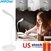 7 LED Reading Book Desk Light Rechargeable 3-level Brightness Clip On Room Lamp