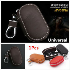 Universal Coffee PU Leather Fashion Car Auto Smart Remote Key Holder Bags Cases