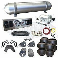 "Dodge Ram Airbag Kit - Stage 1 - 1/4"" Manual Control 4 Path Air Ride System"