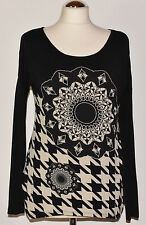 Desigual Damenblusen, - tops & -shirts ohne Kragen aus Viskose