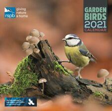 RSPB British Garden Birds Square Wall Calendar 2021 9781529807851 | Brand New