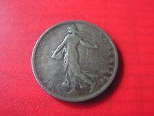 belle piece en argent  1 francs 1898
