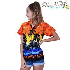 Rockabilly Short Sleeve Tops & Blouses for Women