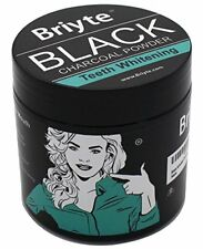 Charcoal Powder Teeth Whitening Black Coconut Powder Iron Large 60g Tub