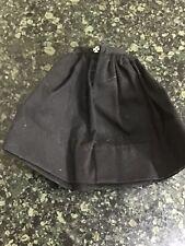 Vintage Barbie 1962 Gathered Skirt Pak Black Gathered Skirt-Excellent