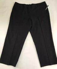 Harve' Benard 22W Black Pants Plus Size Career Wear Office