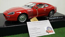 ASTON MARTIN DB7 rouge échelle 1/18 GUILOY 67532 voiture miniature de collection