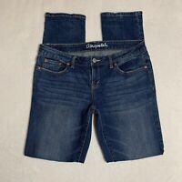 Aeropostale Women 6 Reg Bayla Skinny Jeans Medium Wash Denim