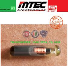 1x ID48 TRANSPONDER KEY TP08 T6 MEGAMOS CHIP FIAT ALFA ROMEO LANCIA CHIAVE