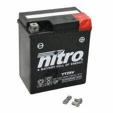 Batterie 12V 7,4AH YTZ8V Gel Nitro für Honda NSS 125 Forza ABS JF60 2015-2016