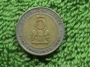 KENYA 5 Shillings 1997