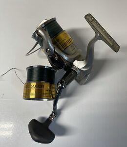 Shimano Stradic 5000 FI Spinning Reel + Extra Spool Daiwa Accurate Penn (#2)