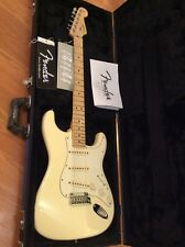 Fender USA American Standard Stratocaster Guitar White With Case. MAKE OFFER.