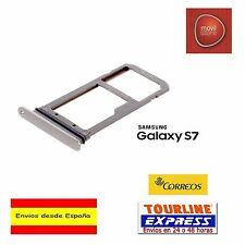 BANDEJA PORTA SIM MICROSIM COLOR GOLD DORADO PARA SAMSUNG GALAXY S7 G930
