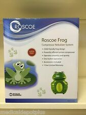 Child Kids Pediatric Nebulizer Aerosol Compressor with Asthma Kit Frog Model