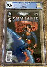 Smallville Season 11 #1 2nd print - 9.6 CGC - Highest On Census - Very Rare