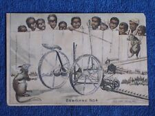 12 Black Boys Try to Catch 2 Rats Playing on Osborne No 4 Harvester/Trade Card