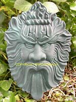 NEW RUBBER LATEX MOULDS MOULD MOLD PAGAN GREENMAN GREEN MAN WALL PLAQUE 16