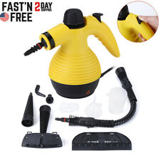 1050W Multifunction Portable Steamer Household Steam Cleaner W/Attachments Tool