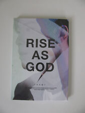 TVXQ Special Album - Rise as God (Black Yunho Version) CD + Photobooklet, NEW