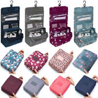Travel Cosmetic Makeup Bag Toiletry Case Hanging Pouch Wash Organizer Storage Z
