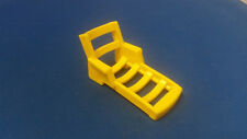 VintageFisher PriceLittle People Yellow Lounge Chair Pool Lawn For A Frame 990