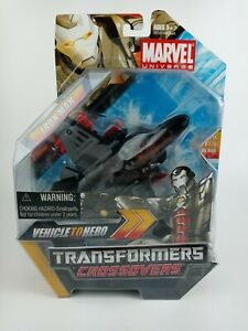 Marvel Transformers Crossovers - Iron Man - Vehicle to Hero
