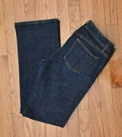 Banana Republic Women's Jeans Bootcut Stretch Dark Wash Size 8 Reg
