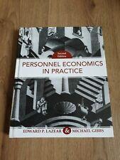 Personal Economics in Practice by Michael Gibbs, Edward P. Lazear (Hardback, 20…