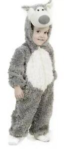 Princess Paradise Big Bad Wolf Gray Plush Deluxe Costume Child XS Size 4