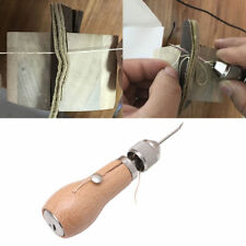 Leather Sail Tent Canvas Hand Stitching Sewing Tools Craft Waxed Thread Awl Kits