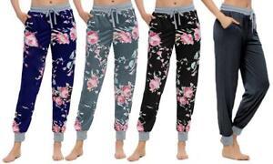 *NEW* Women's Joggers Trousers Ladies Tracksuit Bottoms Gym Pants Lounge Wear