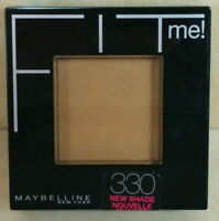 Maybelline Fit Me! Pressed Powder TOFFEE CARAMEL #330 *NEW & SEALED*